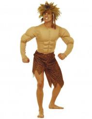 Junglemand dragt mand