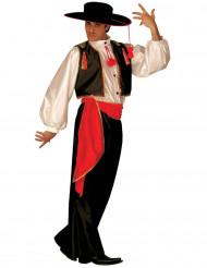 Mexicansk inspireret danserkostume voksen