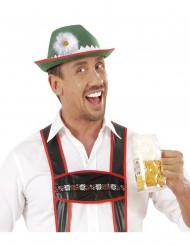 Hat bayersk med marguritte til voksne
