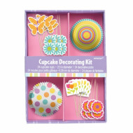 Dekorationskit til cupcakes