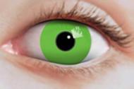 Kontaktlinser med grøn voksne Halloween