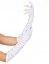 Hvid handsker voksen