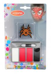 Mini sminkesæt edderkop til børn halloween