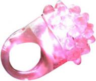 Magisk ring med LED lyserød