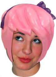 Paryk manga i rosa til voksne