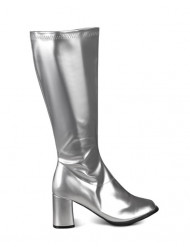 Sølvstøvler kvinde