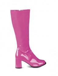 Lakstøvler pink kvinde