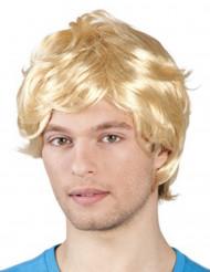 Paryk blond mand