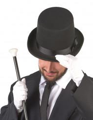 Høj hat sort voksen