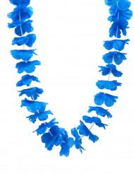 Halskrans Hawaii blå
