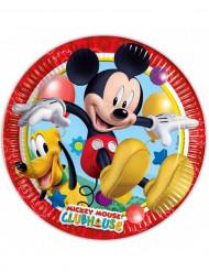 8 Paptallerkener Mickey Mouse™ 23 cm