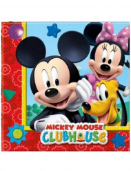 20 Papirservietter - Mickey Mouse™ 33 x 33 cm