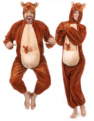 Kænguru kostume voksenstørrelse