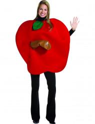 Udklædningsdragt æble voksen
