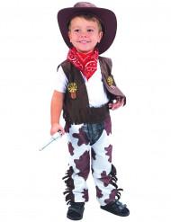 Cowboy deluxe - udklædning til børn