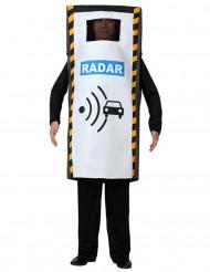 Radar-dragt voksen