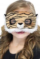 Plysmaske tiger barn