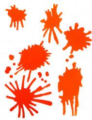 Blodpletter i gelé til Halloween
