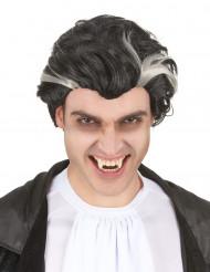 Paryk vampyr sort og hvid mand