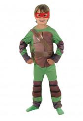 Kostume Ninja Turtles™ polstret til drenge