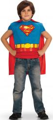 Superman™ plastron og kappe til børn