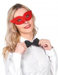 Rød fastelavnsmaske voksen
