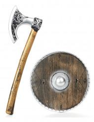 Vikingesæt i plastik til børn