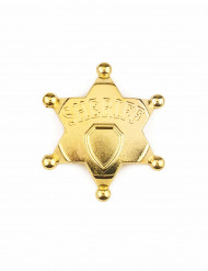 Guld sherifstjerne