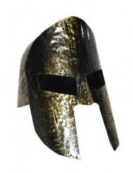 Sort og guld gladiatorhjelm til voksne