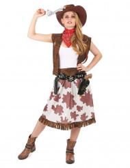 Western cowgirlkostume til kvinder