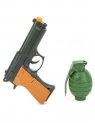 Sæt pistol og granat