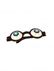 Briller med udstående øjne