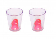 2 penis shotglas