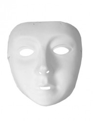 Hvid maske for børn