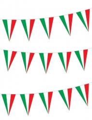 Guirlande italiensk flag 5 meter