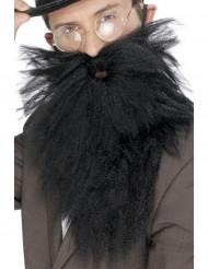 Langt skæg sort