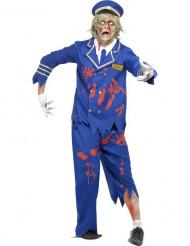 Kostume zombie-pilot til mænd Halloween