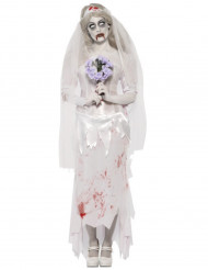 Kostume zombiebrud til kvinder Halloween