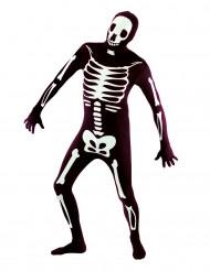 Second skin skeletdragt - voksen