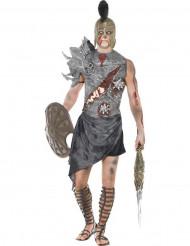 Kostume zombie gladiator voksen halloween