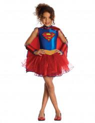 Supergirl™ kostume med palietter - pige