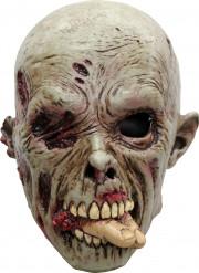 Maske zombie kødæder Halloween voksen