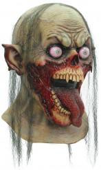 Skør Halloween zombiemaske til voksne