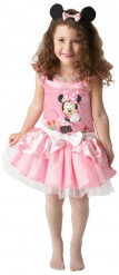 Lyserødt Minnie™ kostume til piger