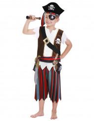Piratdragt til børn