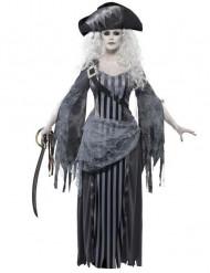 Spøgelsespirat halloween kostume til kvinder