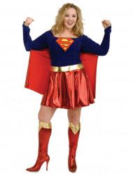 Udklædningsdragt Supergirl™ stor størrelse