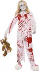 Kostume pyjamas-zombie Halloween piger