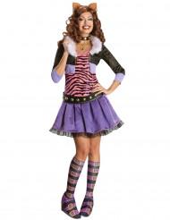 Udklædningsdragt Clawdeen Wolf Monster High™ kvinde