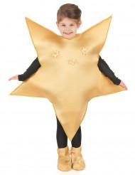 Kostume stjerne forgyldt til børn